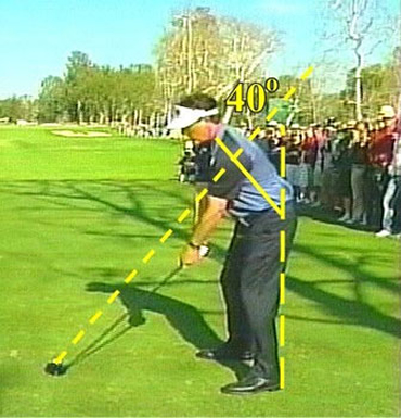 Phil Mickelson at address 2008