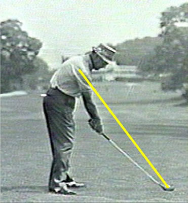 Sam Snead at Address